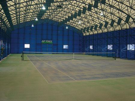ヒットインドアテニススクール内観図